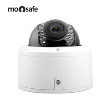 Moosafe UHD 4MP CCTV PoE Home Security Camera Indoor Fixed Lens Infrared Night Vision IP Camera Outdoor Surveillance Camera Dome