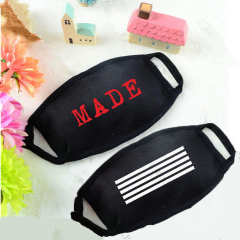 Mainlead New KPOP Bigbang Mouth Mask Muffle  MADE Concert Unisex Face Respirator