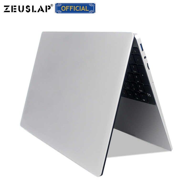 ZEUSLAP 15,6 pulgadas i7-4650U ordenador portátil para juegos 8GB RAM hasta 1TB SSD Win10 Dual Band WIFI 1920*1080P ordenador portátil FHD