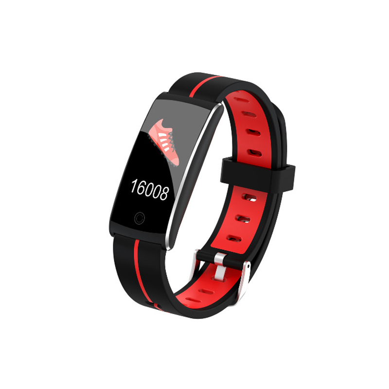 Smart Wristband Color Screen Sport Detachable App Sync Alarm Heart Rate Sleep Monitoring Waterproof Smart For Apple Android image