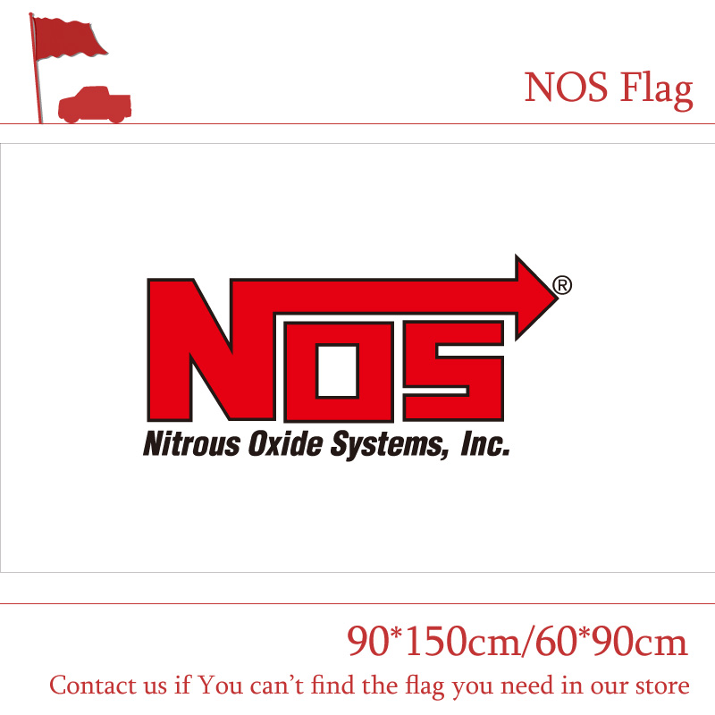 Free shipping NOS Flag NOS Banner 90x150cm 60x90cm Digital Printing Event Decoration in Flags Banners Accessories from Home Garden