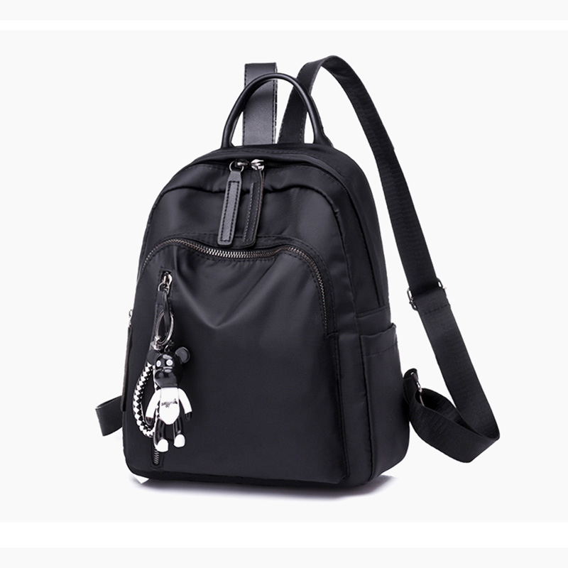 Women Backpack Cloth Waterproof Trend Leisure Female School Shoulder Bags For Soft Waterproof Travel Back Pack