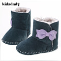 Winter Snow Boots 0-1 Years Old Female Baby Soft Bottom Shoes Plus Velvet Warm Baby Shoes Slip Toddler Shoes WMC903