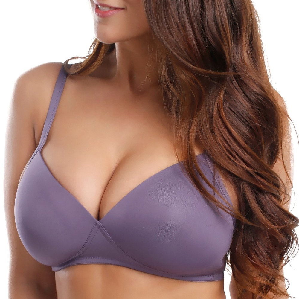 0fe46abdfdc19 Comfortable smooth full figure wire free thin padded bra jpg 1000x1000  Unlined bra 38aa