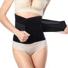 Hot Sale Women Waist Trainer Corset Body Shaper Breathable Slimming Tummy Waist Cincher Slimming Belt Shapewear Modeling Strap