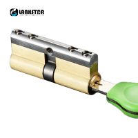 6 Keys C Grade Copper Core Anti Theft Door Locks Cylinder Security Locking Cylinders 70mm 75mm