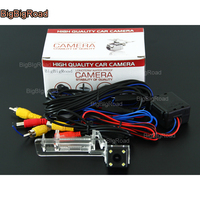 BigBigRoad Car Rear View Reversing Backup Camera With Filter Power Relay For Mercedes Benz Smart ED