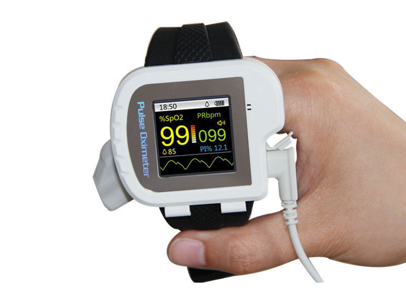 Image 4 - Wrist Oximeter Pulse Rate Monitor Sleep Study sleep apnea Detector Overnight Recording SPO2 Monitoring CONTEC CMS50I Well Packed-in Blood Pressure from Beauty & Health