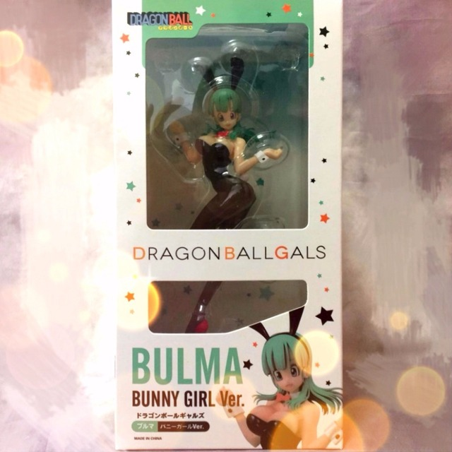 Nouveau chaud 19cm sexy Dragon Ball Buruma Bulma lapin fille figurine jouets collection cadeau de noël avec boîte