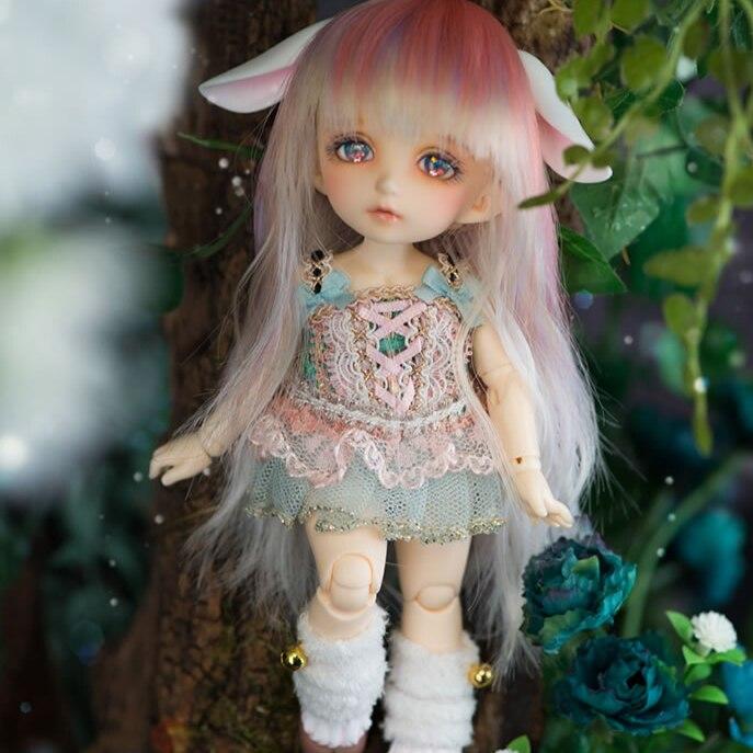 цена AoaoMeow bjd doll 1/8 rin