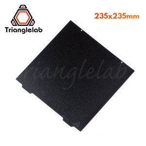 Image 1 - Trianglelab 235 X 235 ender 3 Double Sided Textured PEI Spring Steel Sheet Powder Coated PEI Build Plate For Ender 3