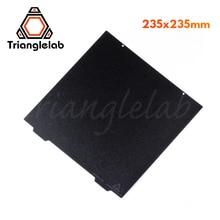Trianglelab 235X235 אנדר 3 כפול צדדי מרקם פיי אביב פלדת גיליון אבקה מצופה פיי לבנות צלחת עבור אנדר 3