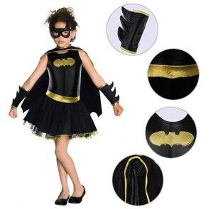 Image 5 - Disfraz de superhéroe para niños y niñas, disfraz de Batman, Batgirl, Cosplay de cómic
