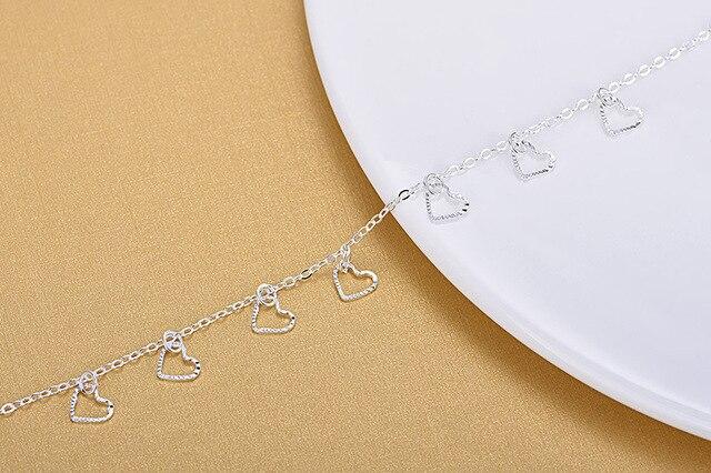 Женский браслет из серебра 925 пробы