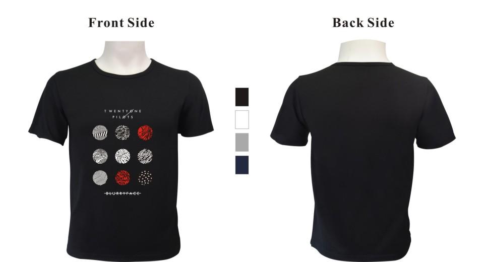 HTB1Q.k PpXXXXb7XVXXq6xXFXXX0 - New Twenty One Pilots T Shirt Cotton Short Sleeve Tops Plus Size 4XL