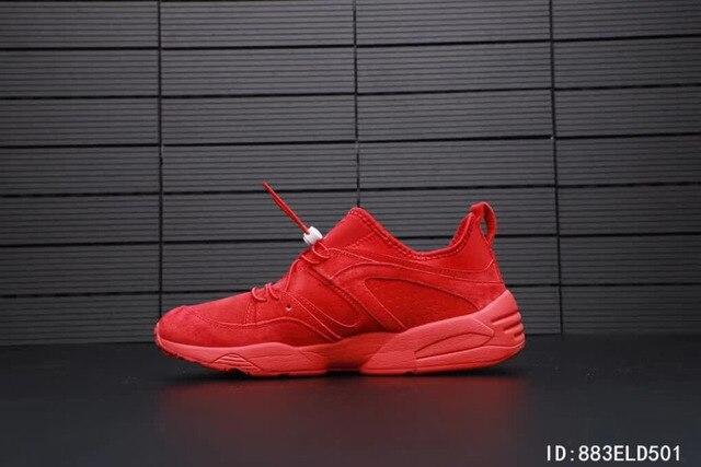 cbedeee5e1f 2018 Arrival Puma red Ventilation shoes Puma men and Women s Sneakers Shoes  Badminton Shoes Size 37-44