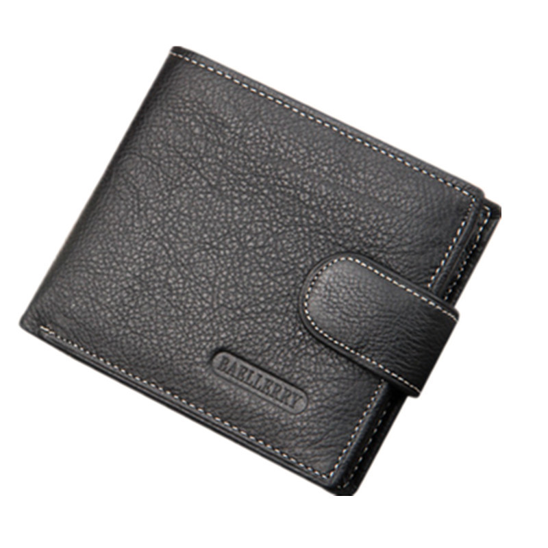 Wallet Bag 2016 Fashion Men Wallets Famous Brand Zipper Wallet Real Leather Mens Vintage Wallet Male