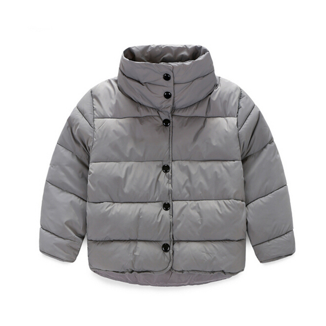 100-140cm Red Blue Cotton Children's Winter Jackets Baby Girl Coat Wnter Newborn Boy Snowsuit Warm Unisex Kids Clothing