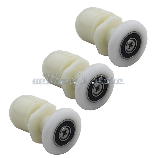 8pcs Sliding Door 25mm Dia Partiality Shower Bath Door Rollers Runners Wheels Pulleys Long Lasting  sc 1 st  AliExpress.com & 8pcs Sliding Door 25mm Dia Partiality Shower Bath Door Rollers ...