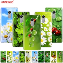 HAMEINUO four leaf ladybug daisy Cover phone Case for Xiaomi redmi 5 4 1 1s 2 3 3s pro PLUS redmi note 4 4X 4A 5A
