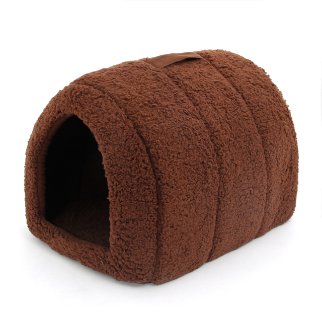 Lovely Pet House With a Bow Dog Kennel Puppy and Cat Beds Arched Shape Easy to Wash Easy to take Puppy Dog Cat Living 4 Colors