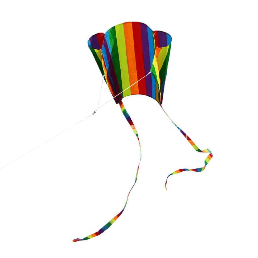 shaunyging # 5015 Childrens Colorful Mini Pocket Kite Outdoor Fun Sports Software Kite Flying