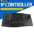 7 pulgadas LCD a Color de Pantalla Red Teclado de Control PTZ de $ Number Canales de Vídeo pantalla HDMI de Salida CCTV PTZ Controlador De Onvif IP PTZ Cámara