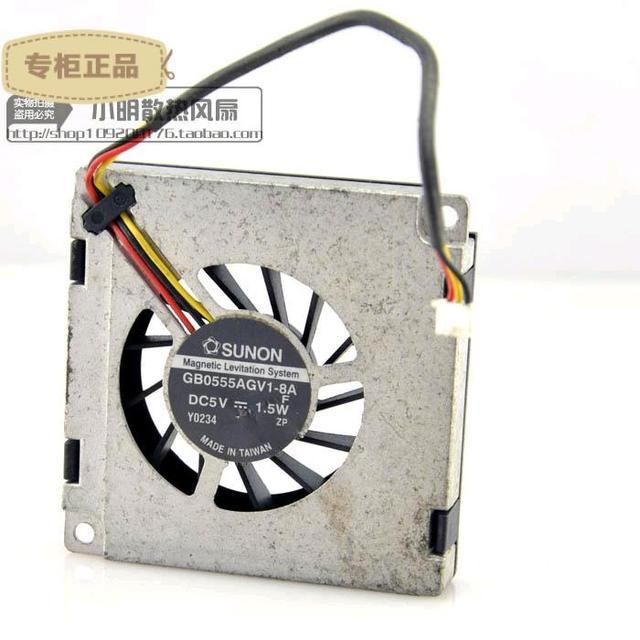 Entrega gratuita. A535 GB0555AGV1-8 un 5 v ventilador B406 G558