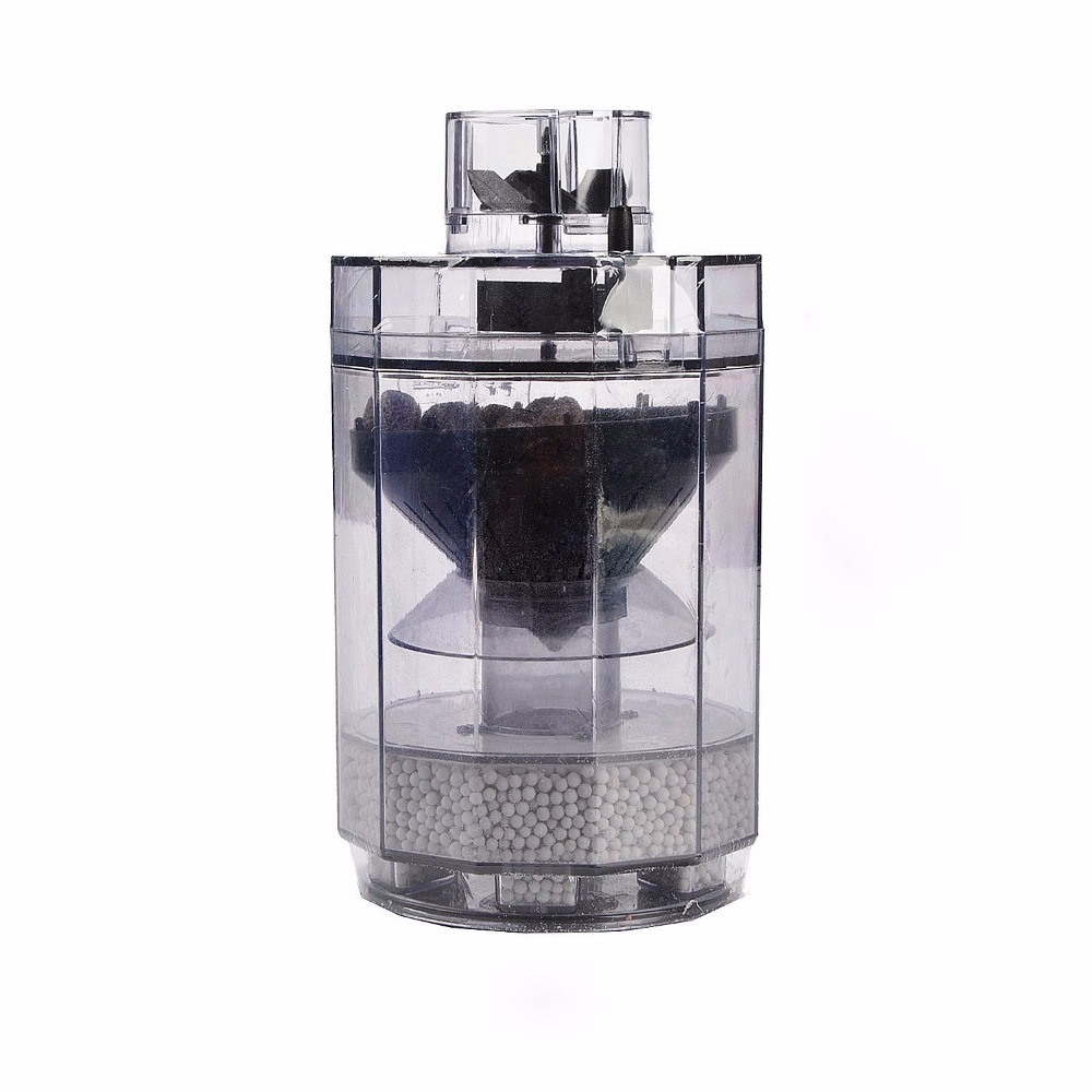 Aquarium Filter for Large Tank Waste Cleaner Aquarium Cleaner Tools Cleaning Fish Tank Plastic Filter Accessories B0000011195