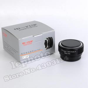 Image 2 - Mitakon Zhongyi objectif Turbo II réducteur de focale adaptateur Booster pour objectif de monture M42 vers Fujifilm XF X monture caméra X Pro2 X T3 X T2 T1
