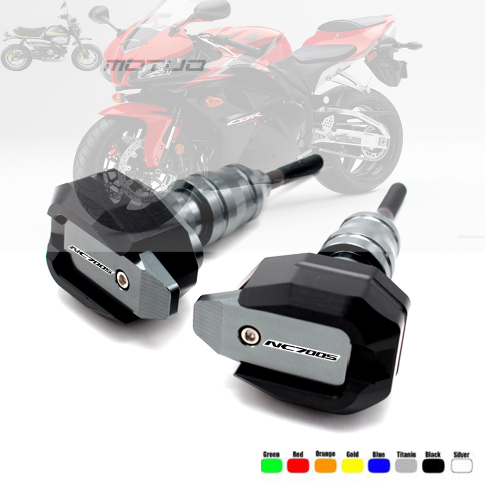 Frame Slider Crash Protector For HONDA NC700X NC750X 2012-2018 NC700S NC750S 12-15 Motorcycle Falling Protection NC700 NC750 X/SFrame Slider Crash Protector For HONDA NC700X NC750X 2012-2018 NC700S NC750S 12-15 Motorcycle Falling Protection NC700 NC750 X/S