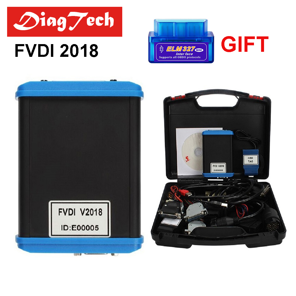 2018 Full Version (Including 18 Software) FVDI 2018 FVDI ABRITES Commander Without Limited FVDI Diagnostic Scanner DHL Free