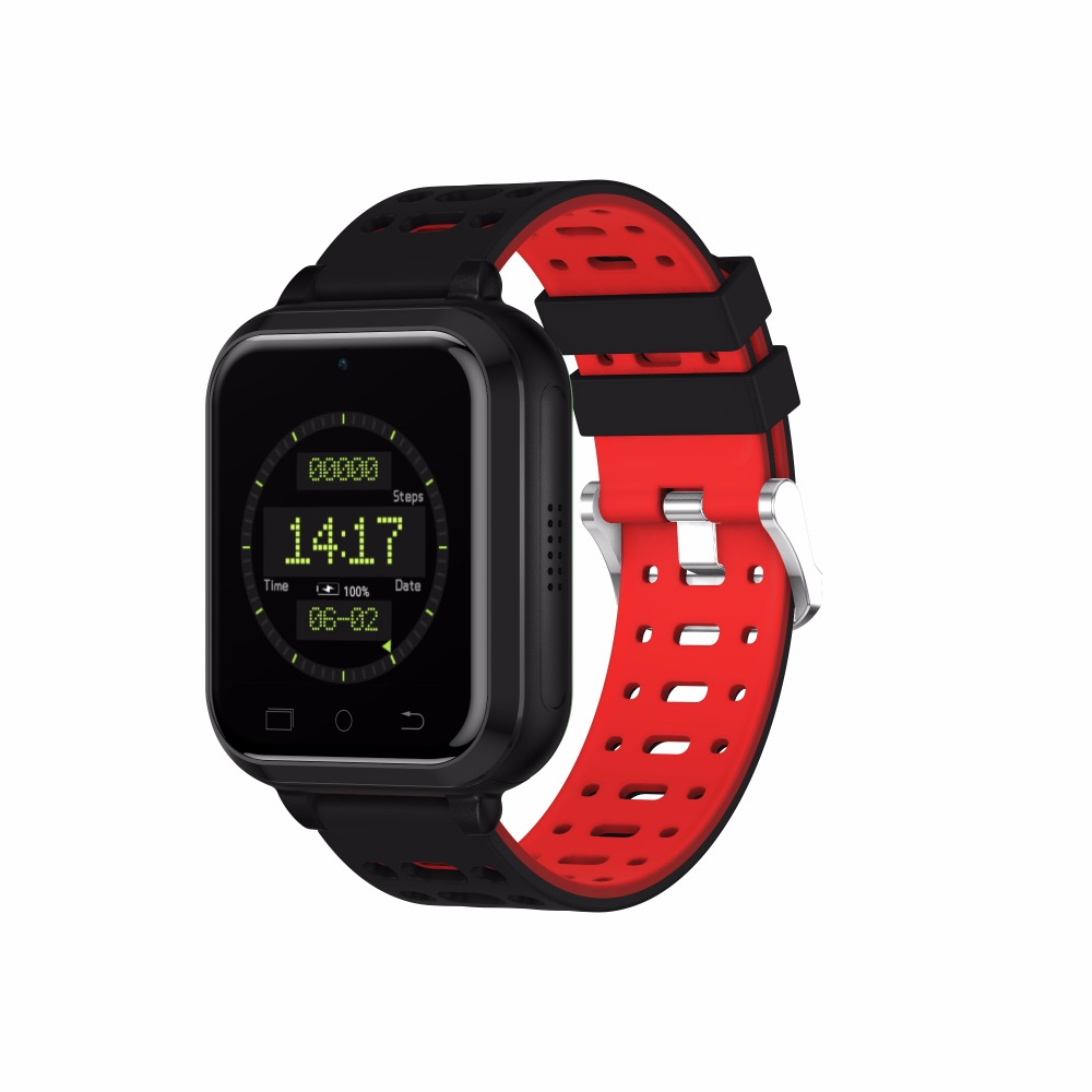 OGEDA m1 inteligentny zegarek 4G monitorowania ciśnienia krwi tętno odbierz lub wybierz otrzymać telefon zwrotny od aparat budzik wodoodporny auto czas alarmu w Zegarki cyfrowe od Zegarki na  Grupa 1