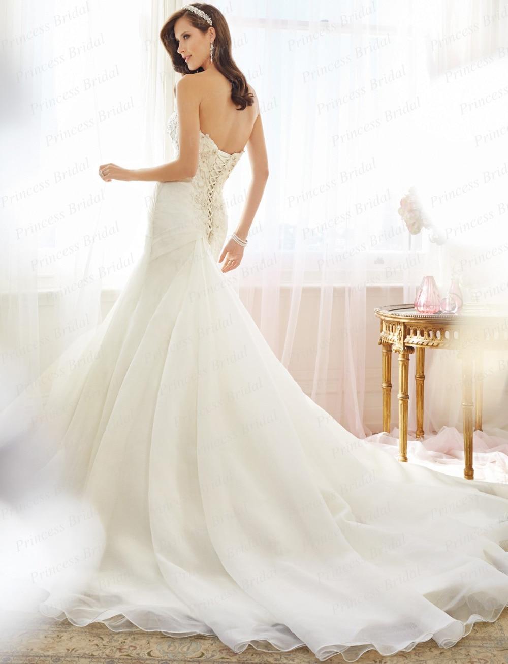 Corset styles wedding dresses