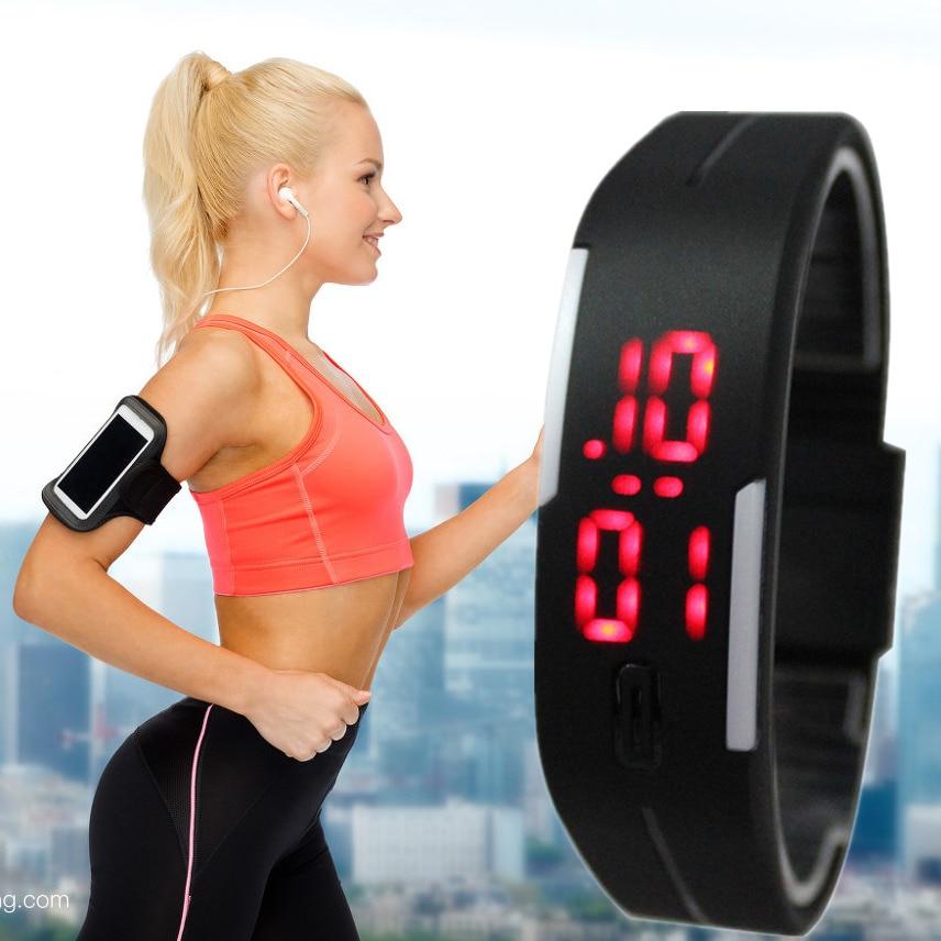 Clock Wristwatch Jelly Digital Silicone Children Fashion Kid Stylish LED Rectangle New-Design