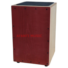 Afanti Music Basswood / Birch Wood / Natural Cajon Drum (KHG-166)