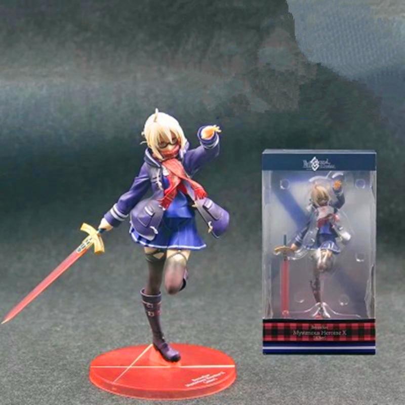 23 CM destin/Grand ordre Anime Figure mystérieuse héroïne X Berserker Ver Action jouet ensemble poupées Sexy avec boîte F164