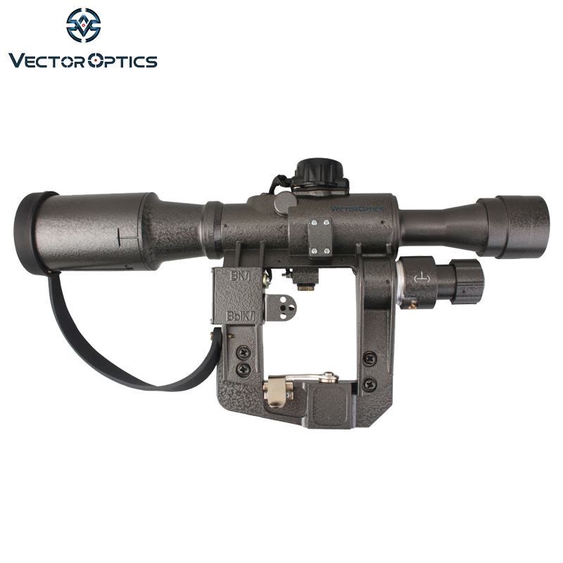 Vector Optics SVD Dragunov 6x36 First Focal Plane Sniper Riflescope Fit AK 47 FFP Illuminated Weapon
