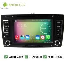 Quad Core 16GB DAB WIFI FM BT Android 5 1 1 2Din 7 1024 600 font