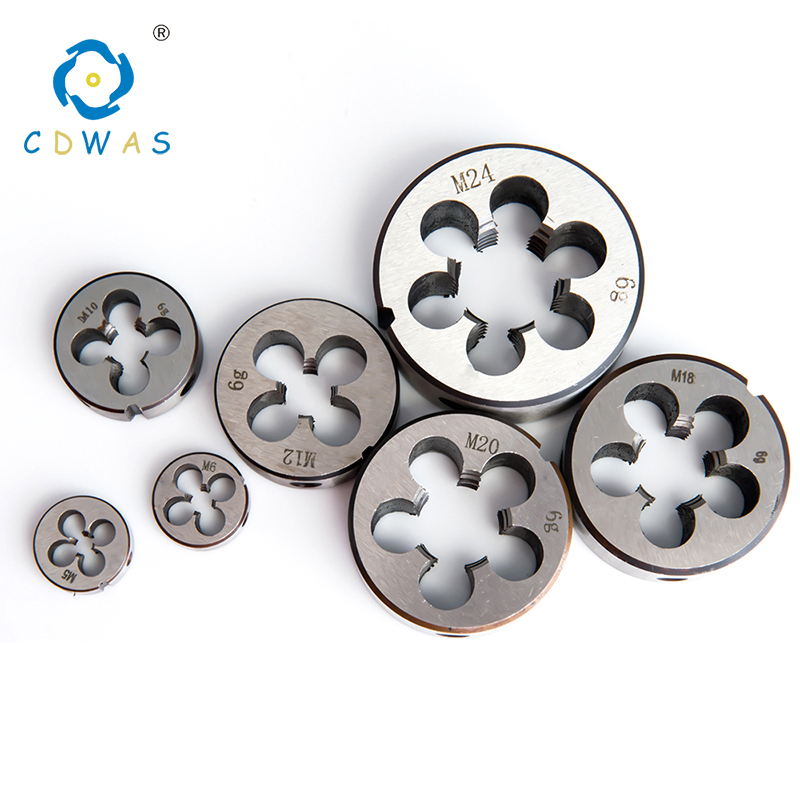 10PCS M2 M4 M6 M8 M10 M12 M14 M16 M18 M20 M22 Metric Right Hand Die Threading Tools Mold Machining For Small Workpiece