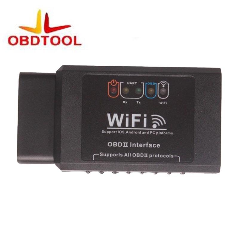 2017 лучшие ELM327 Wi-Fi ELM 327 WIFI Поддержка obd ii obd2 протоколов + 100% гарантия 1 год бесплатная доставка ...