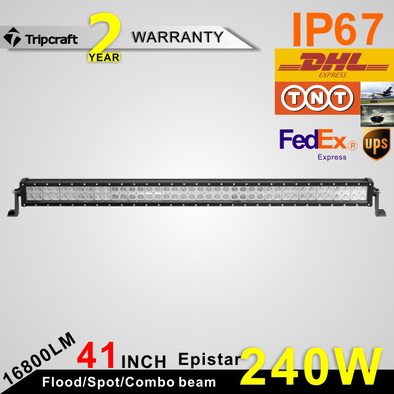 240w Led offroad Light Bar Work Driving ramp for Boat Car Truck truck led ramp 36w led light bar with ip67 waterproof rate