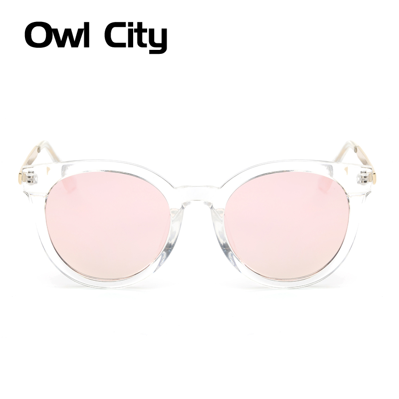 Oval Sunglasses Women Brand Designer Retro Sunglass Female Colorful Coating Lens Eyewear Accessories Classic Sun glasses