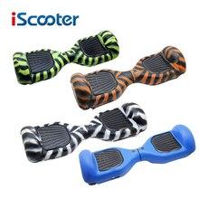 Iscooter hoverboard shell защитите силиконовый чехол водонепроницаемый протектор для 2 колеса разумный балансируя электрический скутер 6.5 дюймов
