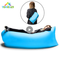 Lazy Fast Inflatable Lounger Air Sofa Camping Outdoor Portable Sofa Beach Bed Travel Picnics Swimming Inflatable