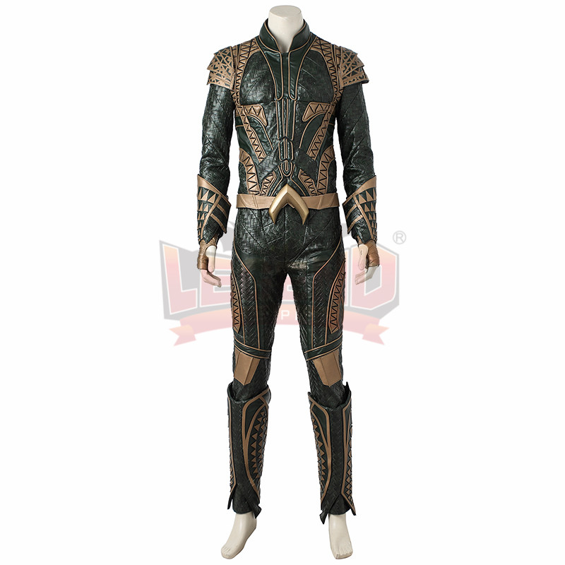 Justice League Aquaman Arthur Curry Cosplay Costume adult costume full set custom made