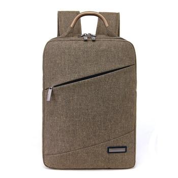 Professional Korean Simple Women Men Business Laptop Backpack For 15.6inch Compu