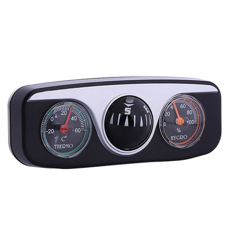 Vehicle Auto Car Boat Truck Navigation Guide Digital Ball Shaped Compass Bl UKP