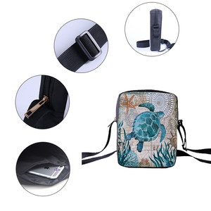 Женские сумки через плечо CROWDALE, повседневные Мини-сумки на плечо с принтом для детей и девочек