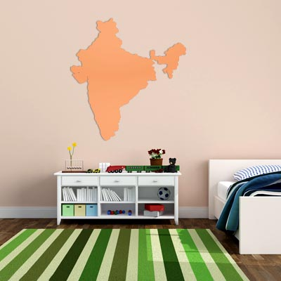 India peta globe earth negara dinding vinyl sticker custom made dekorasi rumah fashion desain di wall stickers dari rumah taman aliexpress com alibaba
